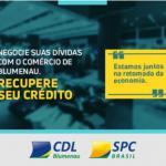 Que recuperar seu crédito? Entre em contato com a CDL, no SHOPPING H